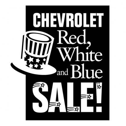 free vector Chevrolet red white and blue sale