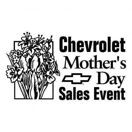 free vector Chevrolet mothers day sales event