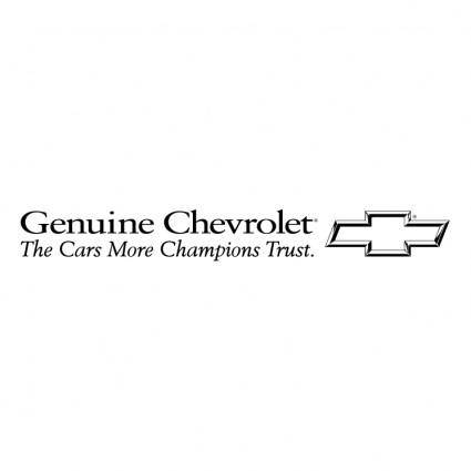 Chevrolet genuine 0