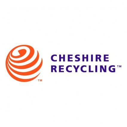 free vector Cheshire recycling