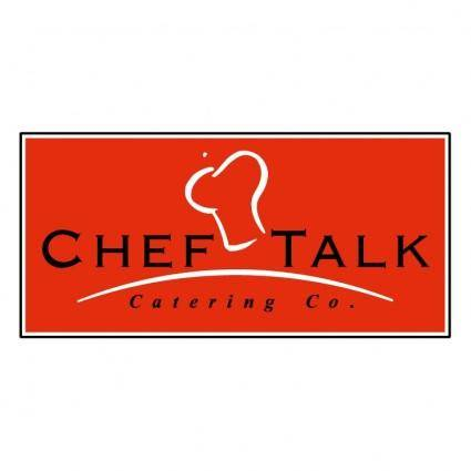 free vector Chef talk catering co