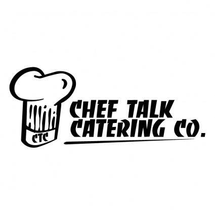 free vector Chef talk catering co 0