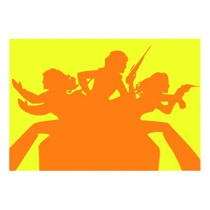 free vector Charlies angels