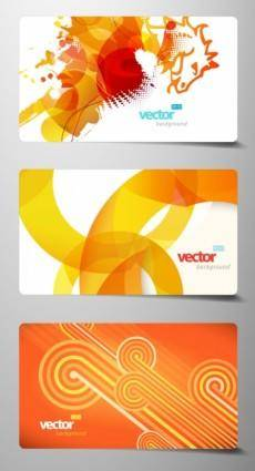 free vector Beautiful card 02 vector