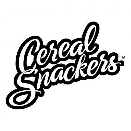 free vector Cereal snackers