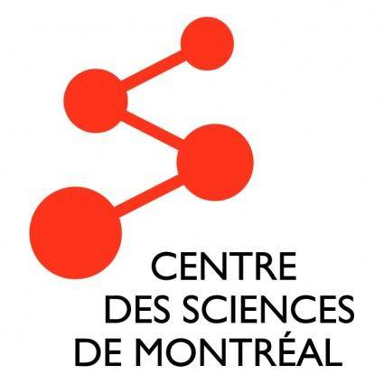 free vector Centre des sciences de montreal
