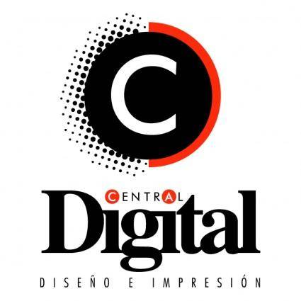 free vector Central digital