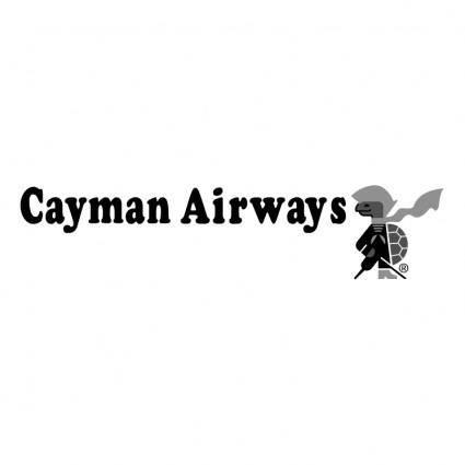 free vector Cayman airways 0