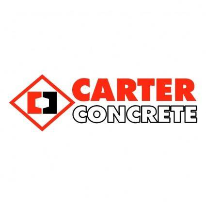 free vector Carter concrete