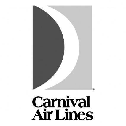 free vector Carnival air lines