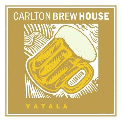 free vector Carlton brew house