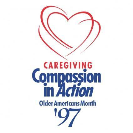 free vector Caregiving compassion in action