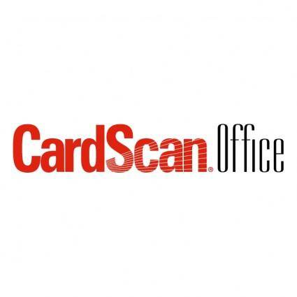 free vector Cardscan office