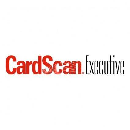 free vector Cardscan executive