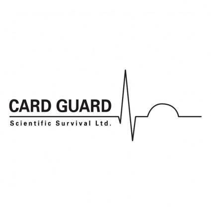 free vector Card guard scientific survival