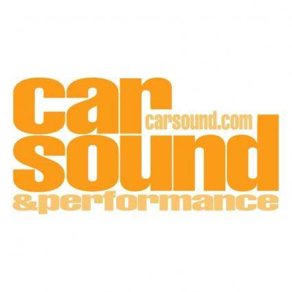 Car sound performance