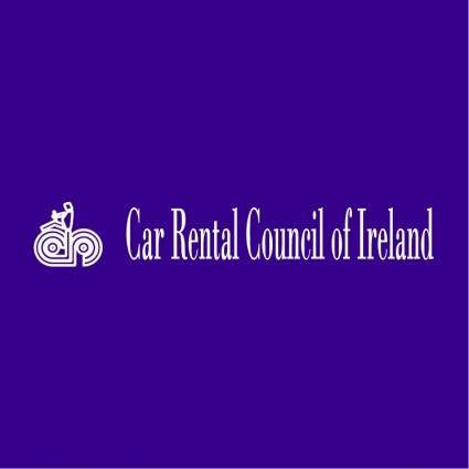 free vector Car rental council of ireland
