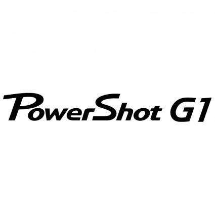 free vector Canon powershot g1