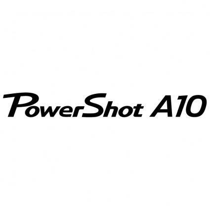 free vector Canon powershot a10
