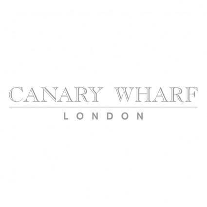 free vector Canary wharf
