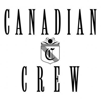 free vector Canadian crew
