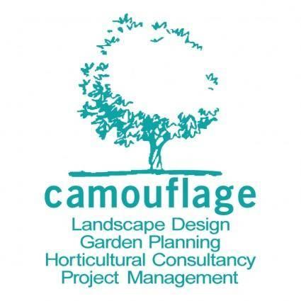 free vector Camouflage landscape design
