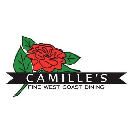 free vector Camille%E2%80%99s restaurant