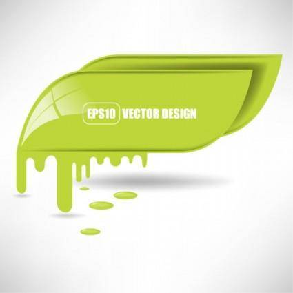 Flowing pigment 04 vector