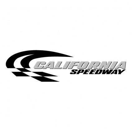 free vector California speedway