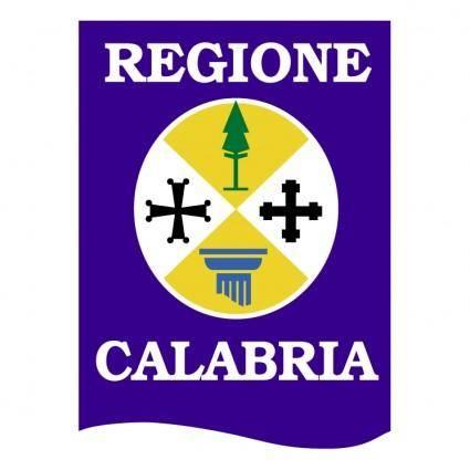 free vector Calabria regione