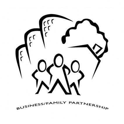 free vector Businessfamily partnership