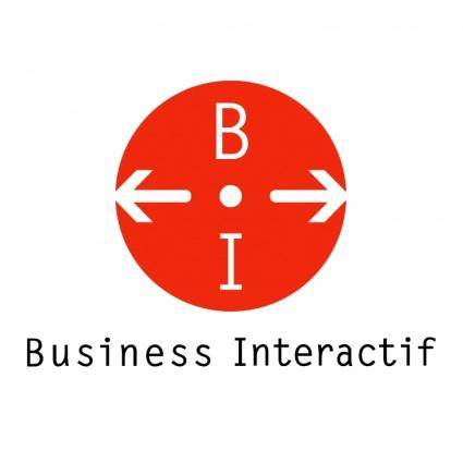 free vector Business interactif