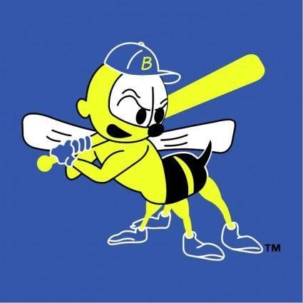 free vector Burlington bees 1