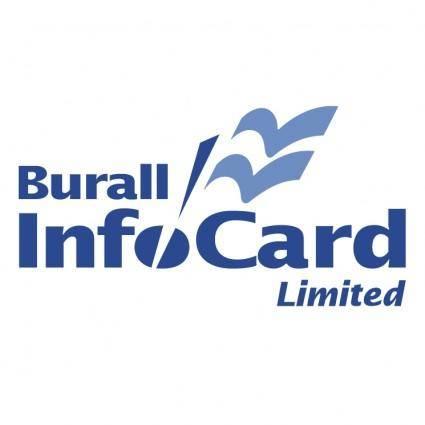 free vector Burall infocard
