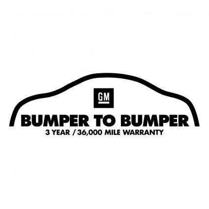 free vector Bumper to bumper