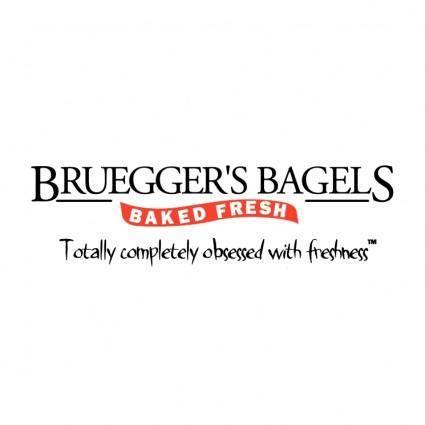 free vector Brueggers bagels 0