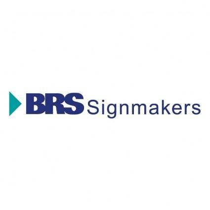 free vector Brs signmakers