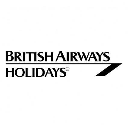 free vector British airways holidays