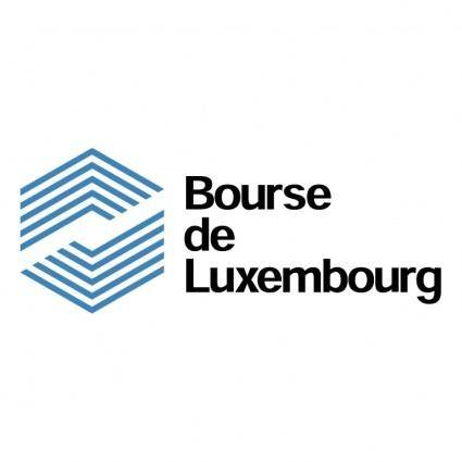free vector Bourse de luxembourg