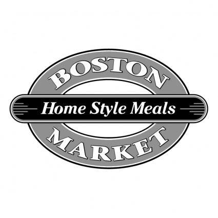 free vector Boston market