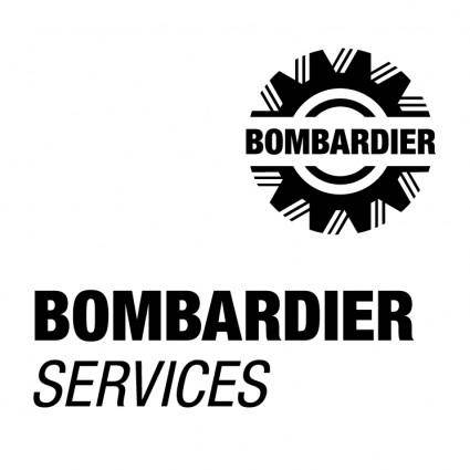 free vector Bombardier services