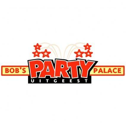 free vector Bobs party palace