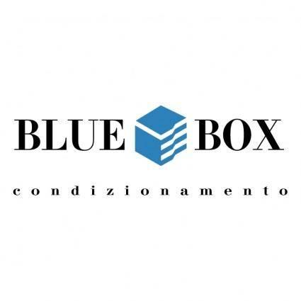 free vector Blue box