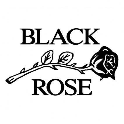 Black rose leather