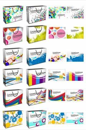 free vector Fashion handbag design vector