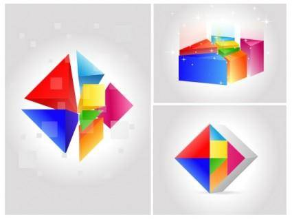 free vector Seven color changing vector