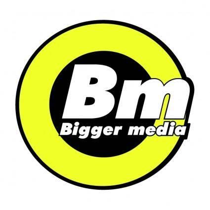 free vector Bigger media