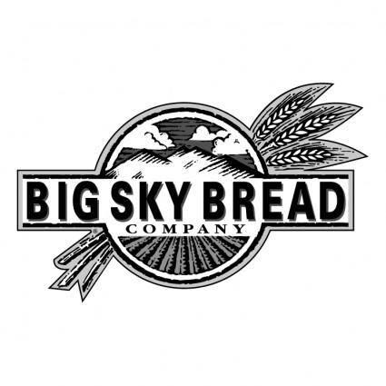 free vector Big sky bread