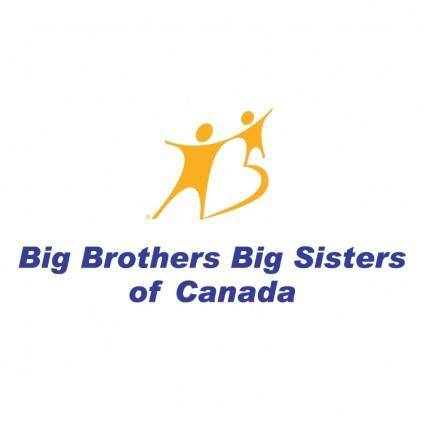 free vector Big brothers big sisters of canada