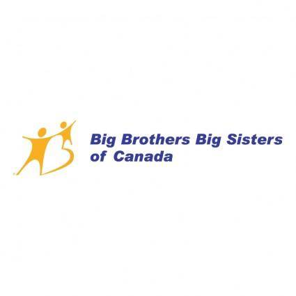 free vector Big brothers big sisters of canada 0